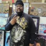 Artist says hip hop inspired his career